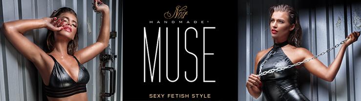 La nouvelle collection sexy Fetish pour femmes Noir HANDMADE