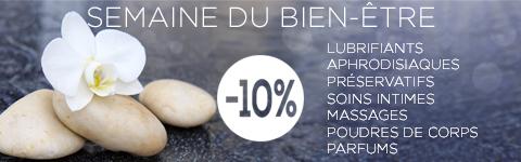 -10% sur tout le rayon Bien Etre