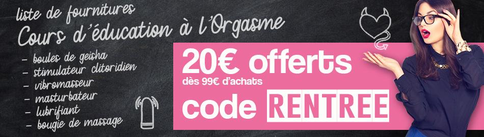 20 euros offert pour 99 euros d'achats