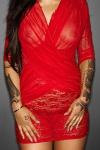Robe Flirty - Rouge