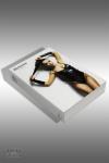 Body Inez et gants - Black Rose