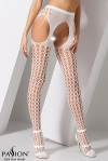 Collants ouverts S006 - Blanc