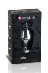 Plug électro-stimulation John L - Mystim