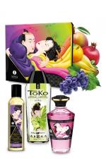 Coffret baisers fruités - Shunga - Le coffret cadeau idéal pour vous initier aux plaisirs du massage par Shunga.