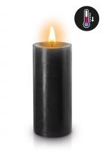 Bougie basse température noire - Bougie noire spéciale pour vos scénarios BDSM. Elle fond à basse température pour éviter les brulures.
