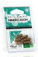 Hydratant vaginal Ninon Lagon (6 gélules) - Une meilleure lubrification vaginale, une pénétration facilitée et un plaisir bien plus intense - Blister de 6 gélules.
