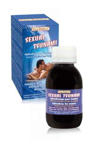Sexual Tsunami - Cet aphrodisiaque stimule le d�sir, intensifie la libido et d�veloppe le plaisir f�minin.