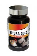Natura Gold (60 gélules) - Sperm optimizer, booste la fertilité, améliore les capacités érectiles, stimule la libido et l'énergie sexuelle.