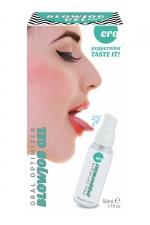 Gel oral optimizer blowjob - menthe poivrée - Gel spécial sexe oral 100% comestible gout menthe poivrée et sensation fraicheur pour plus de plaisir quand vous pratiquez une fellation.