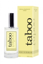 Parfum aphrodisiaque pour couple Taboo Equivoque - Eau de toilette aphrodisiaque unisexe, idéale pour le couple, permettant de réveiller le désir de votre partenaire.