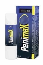 Crème stimulante pour pénis PenimaX - Crème de massage aphrodisiaque pour le pénis permettant d'améliorer sa taille et sa vigueur, à base de plantes naturelles.