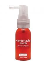 Spray pour fellation - canelle - Spray aromatisé à la canelle pour pratiquer agréablement une gorge profonde.
