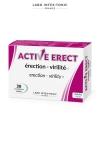 Active Erect - Activateur érection  (30 comprimés) - Complément alimentaire à base de plantes et de vitamines qui améliore érection et virilité. A consommer 1 heure avant l'acte.