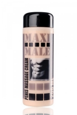 Crème développante  Maxi Mâle : Crème de massage pour le pénis à utiliser conjointement avec un développeur.