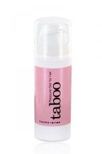 Gel Plaisir clitoridien Taboo - Le gel intime pour stimuler le clitoris et accroitre le plaisir féminin.