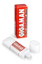 Crème virile développante  Gigaman - La crème de massages pour hommes indispensable pour avoir une verge en grande forme.