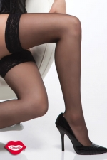 Bas nylon Carry : Bas nylon autofixants, de belles jambes sexy, sans porte-jarretelle !