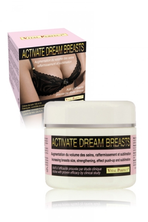 Activate Dream Breasts - Crème de soins pour développer, raffermir, sublimer la poitrine féminine.