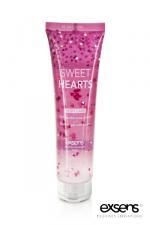 Gel douche Exsens Sweet Hearts - 100 ml - Un gel douche au parfum subtil qui dépose des petits coeurs sur votre peau.