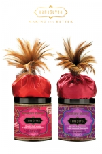 Poudre corporelle embrassable - Kamasutra - Poudre corporelle  Honey Dust  parfumée et comestible, pour vos jeux coquins et/ou prendre soin de votre corps.