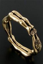 Cockring BallRing (diam: 5cm) - Un anneau taille xl composé de deux femmes enchainées, pour enserrer votre sexe prêt à exploser.