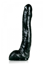 Grand gode realistic noir - Un gode All Black de taille plus qu'honorable pour un r�alistic.