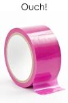 Ruban de bondage 20 m - rose - ruban de bondage rose (20 m), non collant, utilisable pour toutes sortes de jeux coquins, au gré de vos fantasmes.