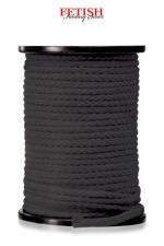Corde bondage x 60 m - 60 m de Corde noire Fetish Fantasy pour vos jeux de  bondage .