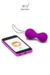 Smart Kegel Balls - Pratiquez les exercices de Kegel et la musculation du vagin avec un coach virtuel.