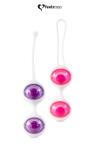 Boules de Geisha Jena - Feelztoys - Coffret de 2 jeux de boules de geisha interchangeables pour muscler le plancher pelvien et accroitre le plaisir féminin.