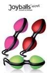Joyballs Secret Shiny - Des boules de Geïsha ultra performantes, au design révolutionnaire et aux teintes acidulées, un pur plaisir des sens.