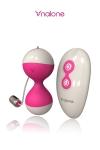 Balle vibrante télécommandée Miu Miu - Un sextoy ludique et utile  apportant une vraie réponse aux attentes des femmes en matière de plaisir sexuel et de bien être.