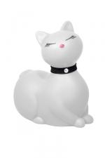 I Rub My Kitty Travel - blanc - Après le canard mondialement connu, Big Tease Toys nous présente le chat!