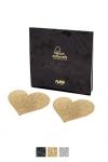 Bijoux de seins Flash Coeur - Avec ces décorations permettant de cacher les mamelons, osez laisser le soutien-gorge au placard !