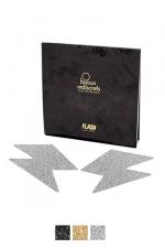Bijoux de seins Flash Eclair - Avec ces décorations permettant de cacher les mamelons, osez laisser le soutien-gorge au placard !