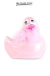 Mini canard vibrant Duckie Paris - rose - Le célèbre canard vibrant  en version mini Paris rose. nouveau modèle plus silencieux avec 7 modes de vibrations.