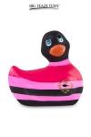 Mini canard vibrant Colors noir - Déclinaison à tête noire du célèbre canard vibrant dans la collection Colors. I Rub My Duckie est désormais en version 2.0.