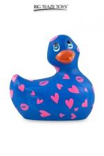 Mini canard vibrant Romance violet et rose - Déclinaison violette et rose du célèbre canard vibrant dans la collection Romance.  I Rub My Duckie est désormais en version 2.0.