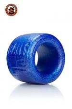 Balls-XL Ballstretcher - bleu - La référence des ball-stretchers, version grande taille,  100% silicone Platinum, marque Oxballs, coloris bleu.