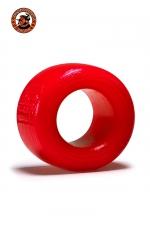 Balls-T Ballstretcher - rouge - Le ball-stretcher phare de la marque Oxballs, en version small, coloris rouge, plus accessible et utilisable pour s'entrainer.