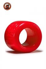 Balls-XL Ballstretcher - rouge : La référence des ball-stretchers, version grande taille,  100% silicone Platinum, marque Oxballs, coloris rouge.