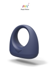 Anneau vibrant connect� Dante - Dante Smart Wearable Ring est un cockring vibrant connect� hyper-performant pour les plaisirs du couple.