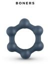 Cockring Hexagonal avec billes en acier - Boners