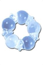 Anneau de penis silicone - Le super stretch silicon ring: une bague d'érection en silicone super extensible.