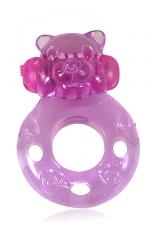 Power Ring Bear - Un anneau vibrant à enfiler sur le sexe pour faire monter le plaisir des deux partenaires pendant les rapports sexuels.