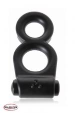Vibro 8 Ring - Malesation - Avec le  Vibro 8 ring  vos attributs virils sont en position de force pour donner et recevoir du plaisir!