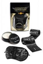 Set Instruments de Plaisir - Orange - Un pack de 3 accessoires coquins Level Orange proposé par Bijoux Indiscrets.
