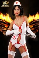 Sexy Nurse - costume d'infirmière - Costume sexy d'infirmière, un déguisement qui fera assurément monter la température !