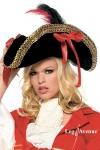 Chapeau de Pirate Gold