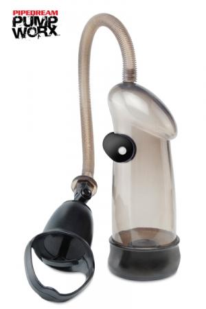 Pompe Vibrating Sure Grip - Pipedream : Une pompe � utiliser d'une seule main avec fonction vibromasseur pour des sensations explosives!